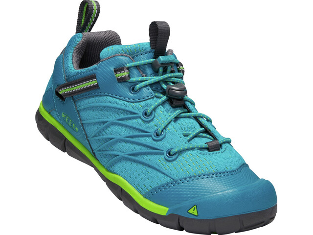 Keen Chandler CNX Zapatillas Niños, tahitian tide/bright green